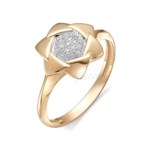 11894-100 - Золотое женское кольцо -  Бриллиант  - Иллюзия. Купить ... 119b6297e4deb