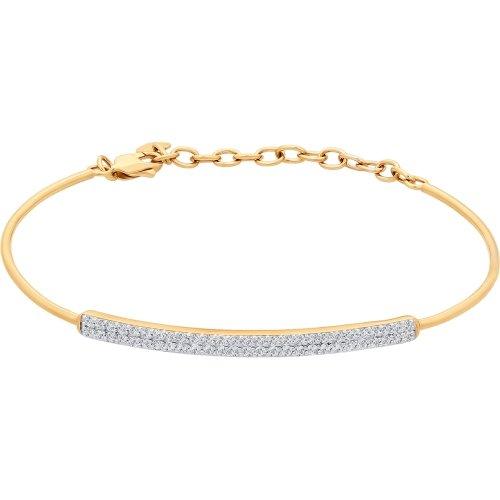 цельные золотые браслеты фото