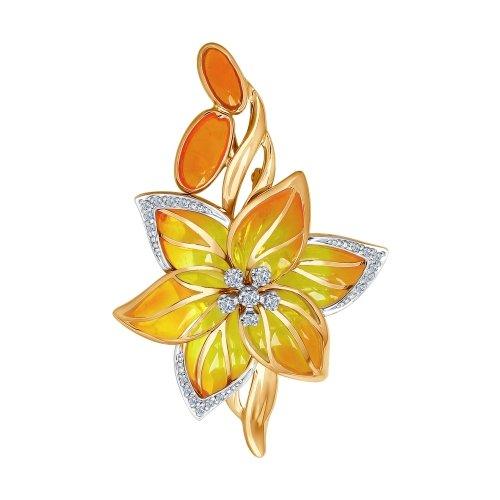652baa4c1899 Броши из комбинированного золота купить по каталогу ювелирных изделий с  ценами. Интернет-магазин в г. Москва