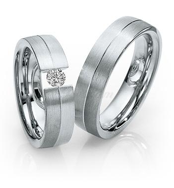 Золотые обручальные кольца парные с бриллиантами (ширина 6 мм.) - 2К-925 db0af84ce3e